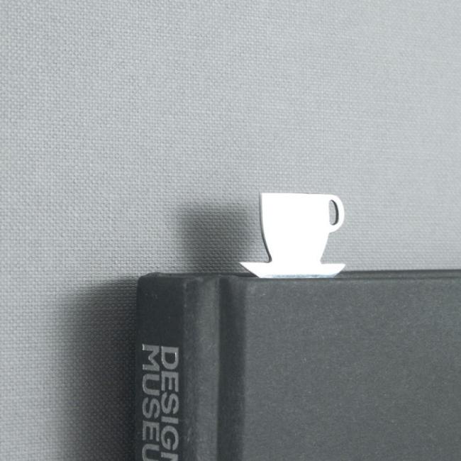 Kahve Bardağı Şeklinde Kitap Ayracı