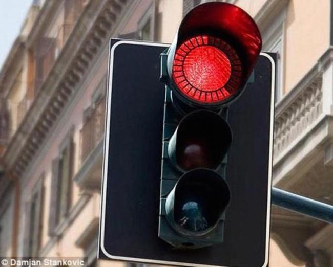 Geri Sayımlı Kırmızı Işık