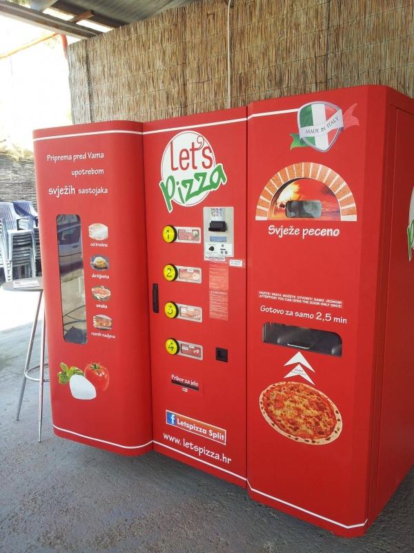 Hazır Pizza Otomatı