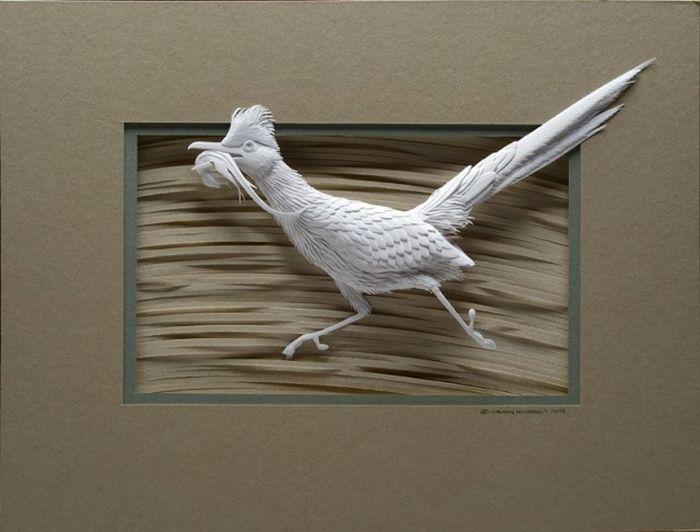 CALVIN NICHOLLS Kağıttan Kuş Heykeli