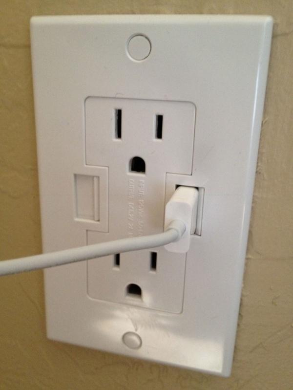Usb çıkışlı elektrik prizi