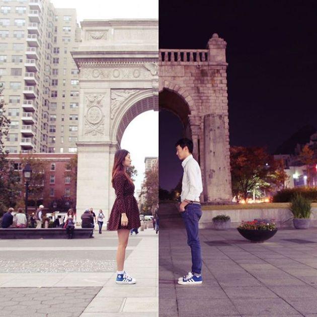 Uzak İlişki Yaşayan Çiftten Romantik Çalışma