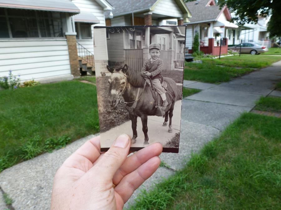 Yıllar Sonra Aynı Yerden Çekilen Fotoğraflar
