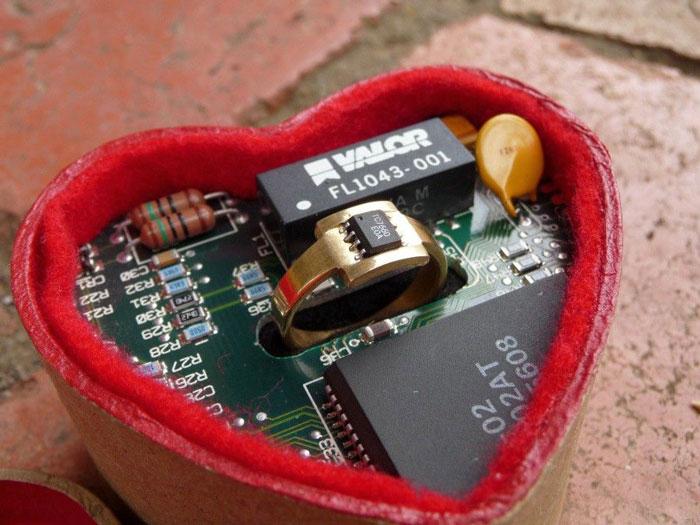 Microchip Evlilik Yüzüğü