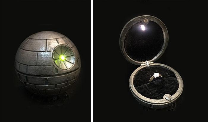 Star Wars Yüzük Kutusu