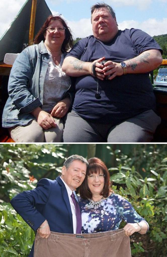 Birbirilerine Ciddi Şekilde Kilo Verdiren Çiftler