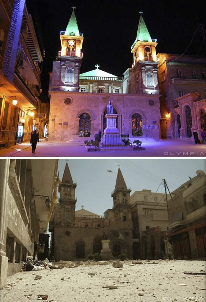 Havaş Öncesi ve Sonrası Halep - Suriye