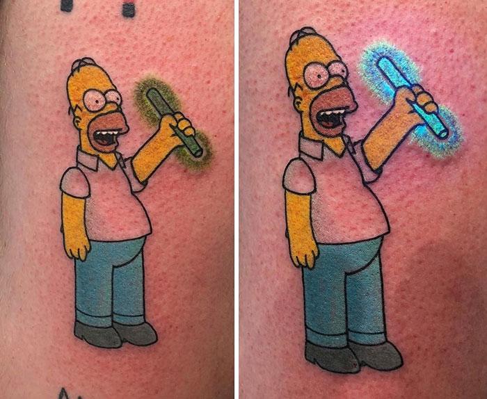 Simpsons Dövmesi