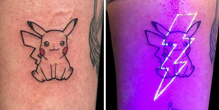 pikachu dövme
